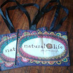 Natural Life totes